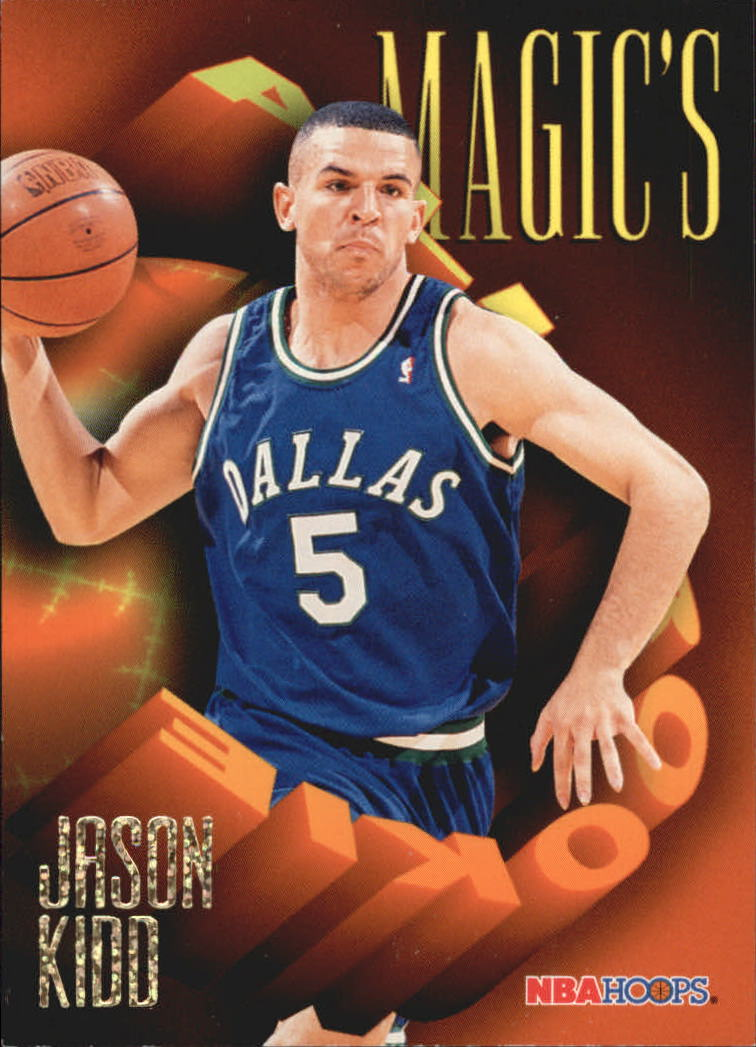 1994-95 Hoops Magic's All-Rookies #AR2 Jason Kidd
