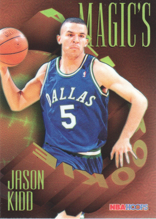 1994-95 Hoops Magic's All-Rookies Foil-Tech #FAR2 Jason Kidd