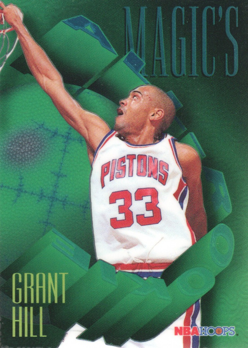 1994-95 Hoops Magic's All-Rookies Foil-Tech #FAR3 Grant Hill