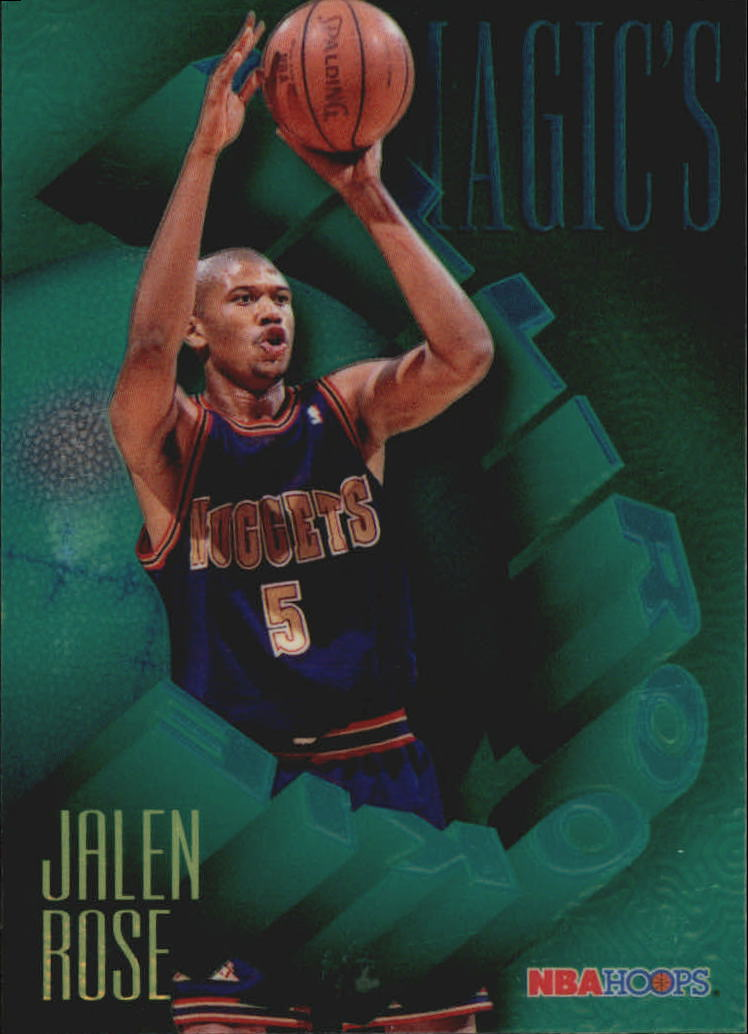 1994-95 Hoops Magic's All-Rookies Foil-Tech #FAR9 Jalen Rose