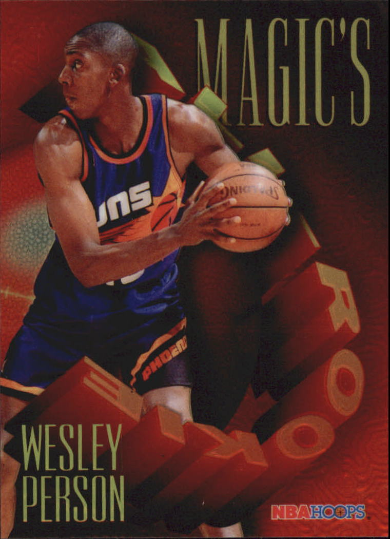 1994-95 Hoops Magic's All-Rookies Foil-Tech #FAR10 Wesley Person