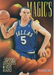1994-95 Hoops Magic's All-Rookies Jumbos #AR2 Jason Kidd