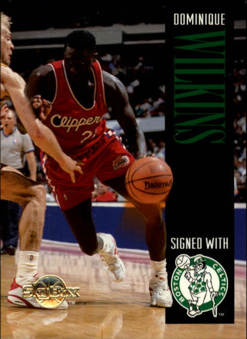 1994-95 SkyBox Premium #77 Dominique Wilkins