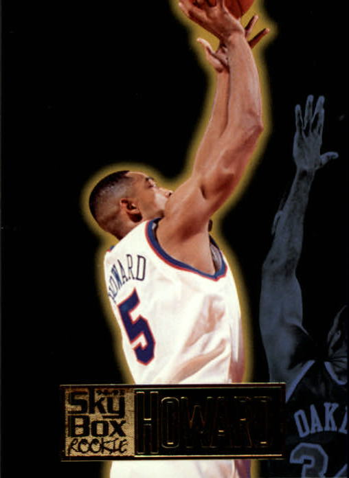 1994-95 SkyBox Premium #293 Juwan Howard RC
