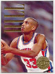 1994-95 SkyBox Premium Head of the Class #1 Grant Hill