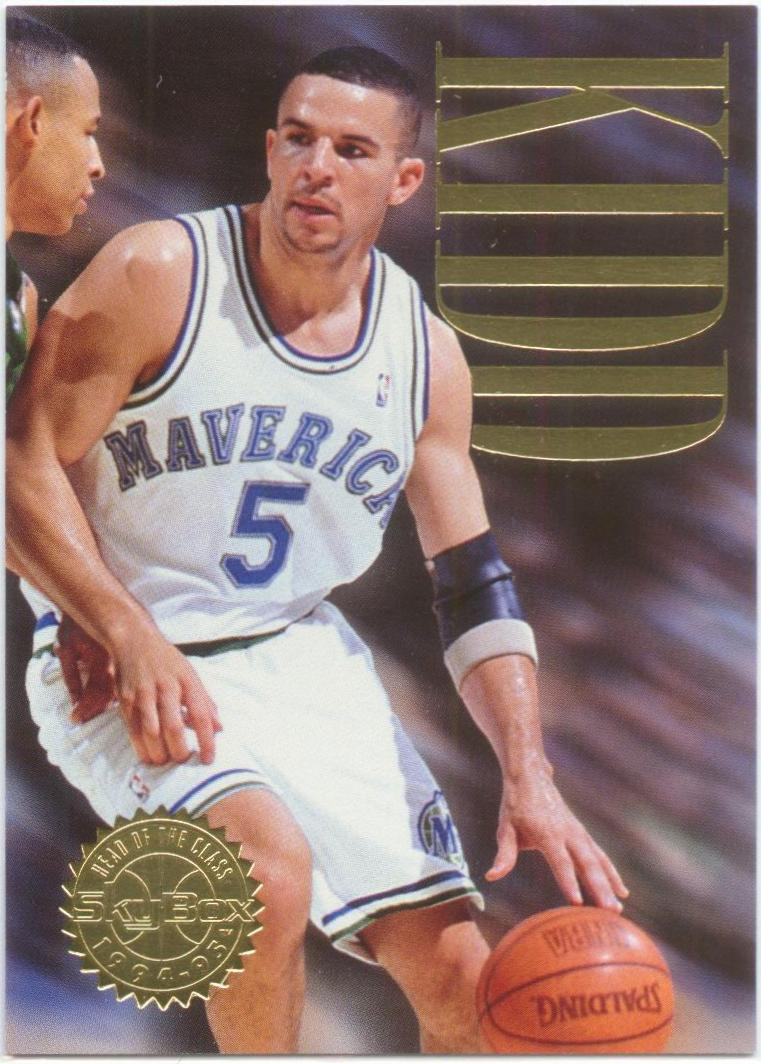 1994-95 SkyBox Premium Head of the Class #3 Jason Kidd