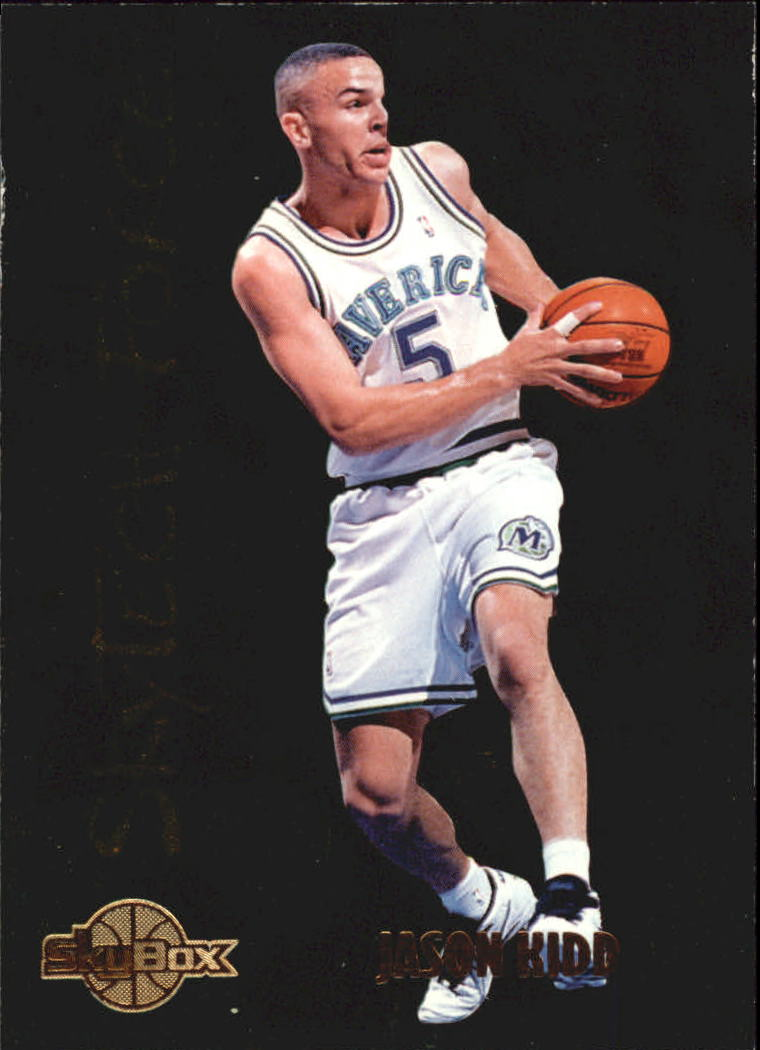 1994-95 SkyBox Premium SkyTech Force #SF11 Jason Kidd