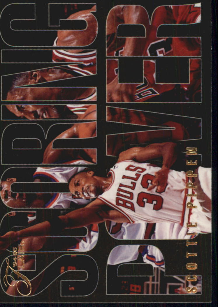 1994-95 Flair Scoring Power #6 Scottie Pippen