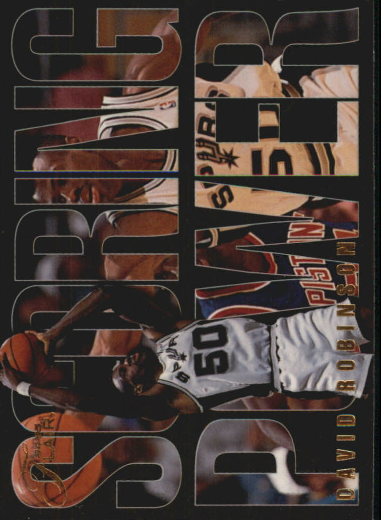 1994-95 Flair Scoring Power #8 David Robinson