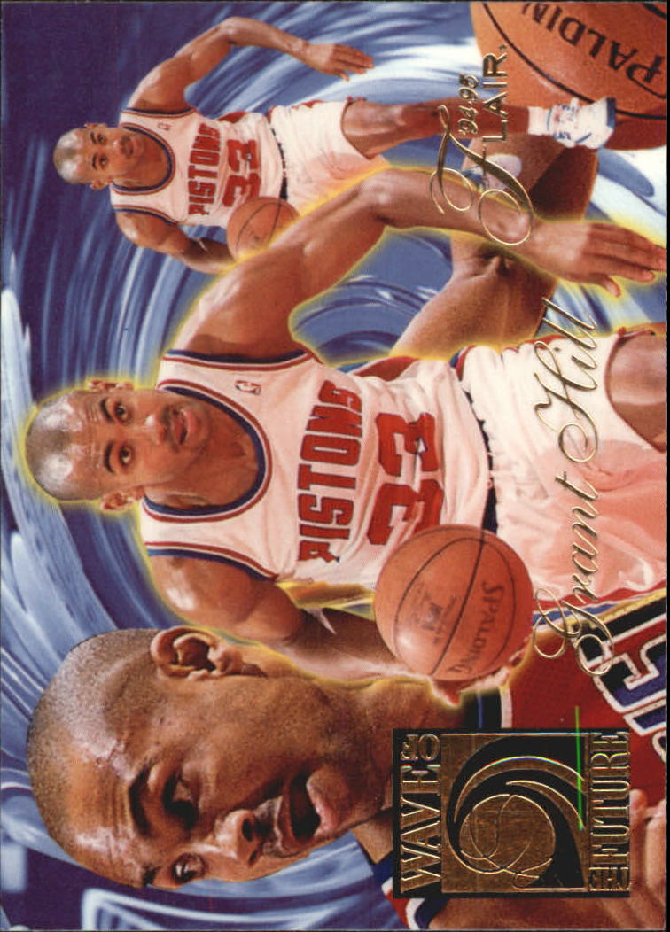 1994-95 Flair Wave of the Future #2 Grant Hill