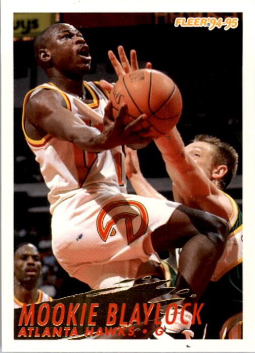 1994-95 Fleer #2 Mookie Blaylock