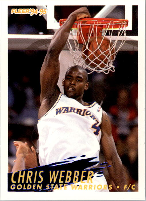 1994-95 Fleer #78 Chris Webber