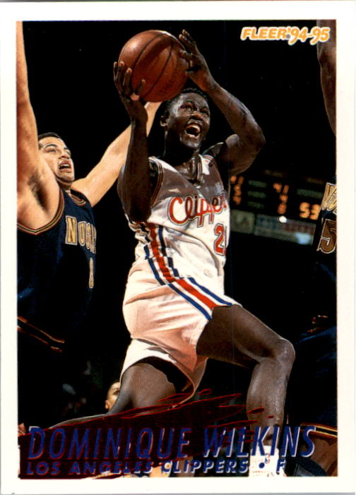 1994-95 Fleer #105 Dominique Wilkins