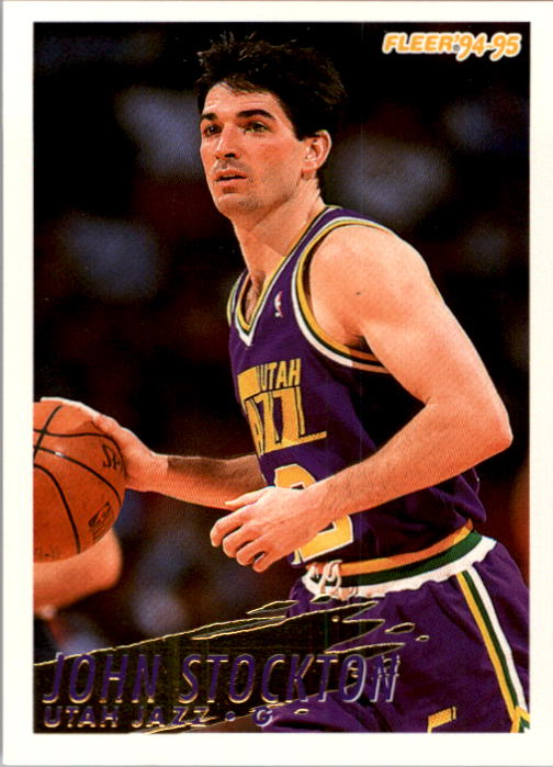 1994-95 Fleer #227 John Stockton