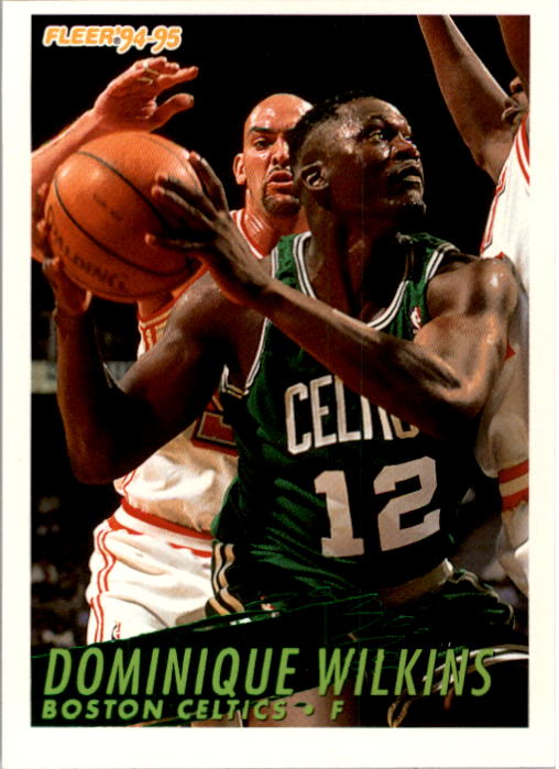 1994-95 Fleer #252 Dominique Wilkins