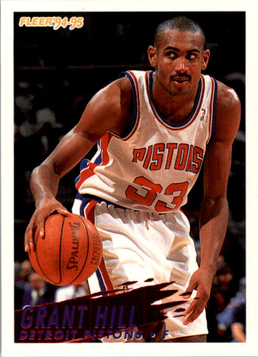 1994-95 Fleer #280 Grant Hill RC