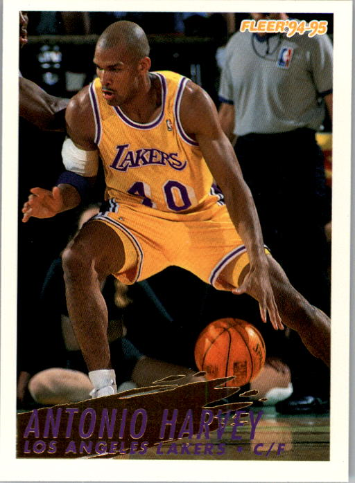 1994-95 Fleer #307 Antonio Harvey
