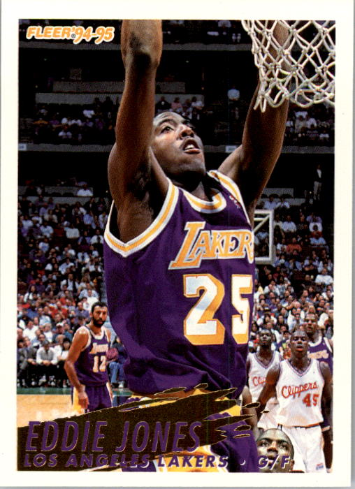 1994-95 Fleer #308 Eddie Jones RC