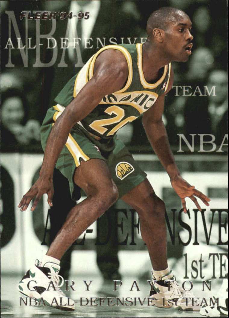 1994-95 Fleer All-Defensive #4 Gary Payton