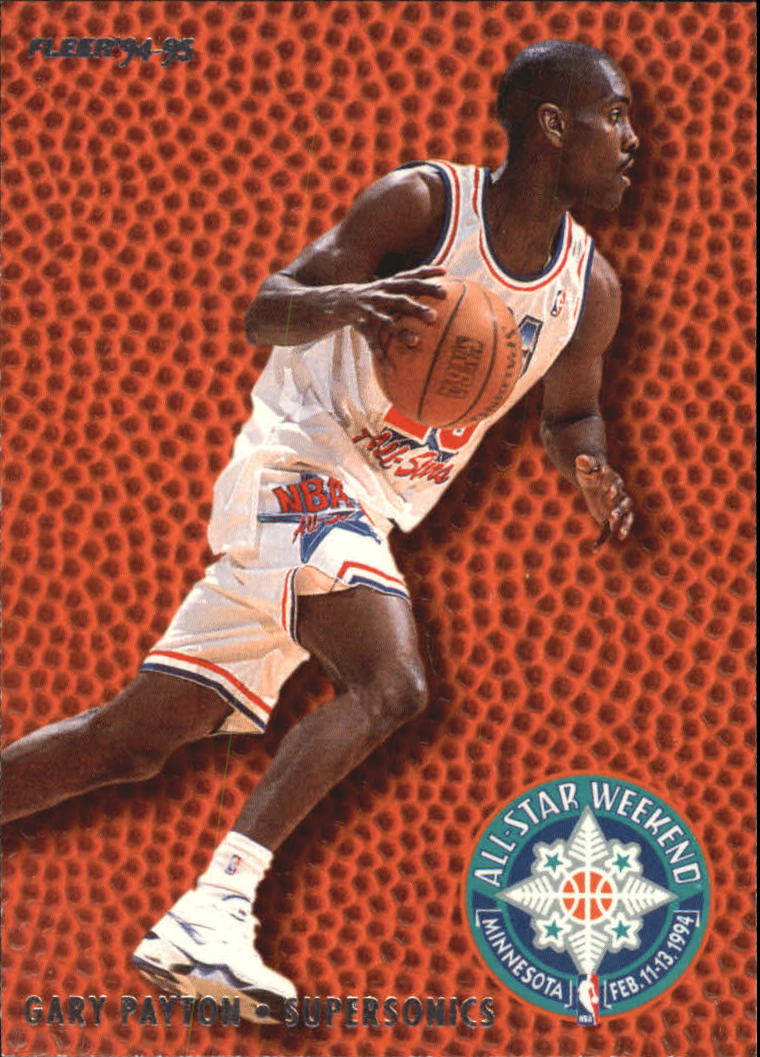 1994-95 Fleer All-Stars #21 Gary Payton