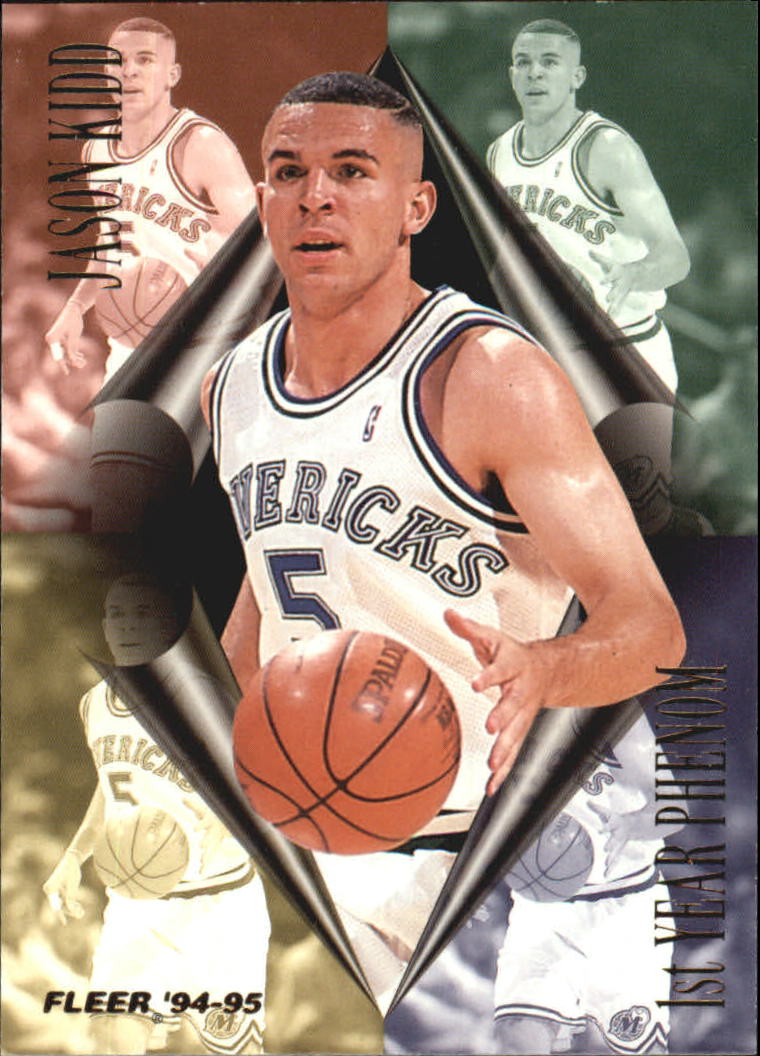 1994-95 Fleer First Year Phenoms #2 Jason Kidd