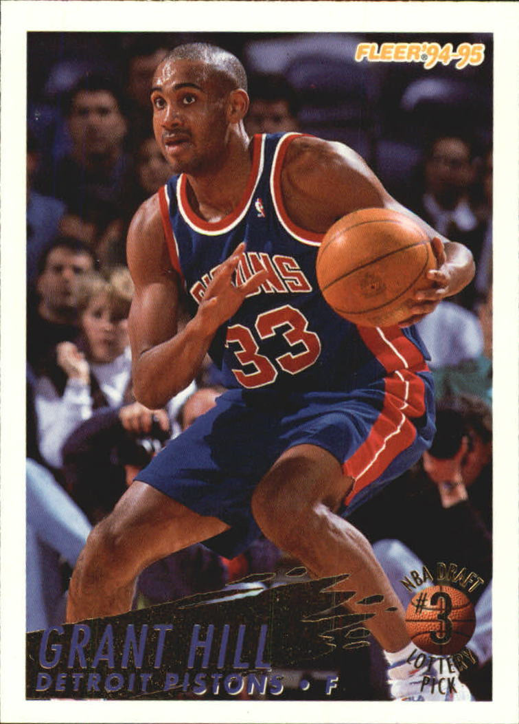 1994-95 Fleer Lottery Exchange #3 Grant Hill