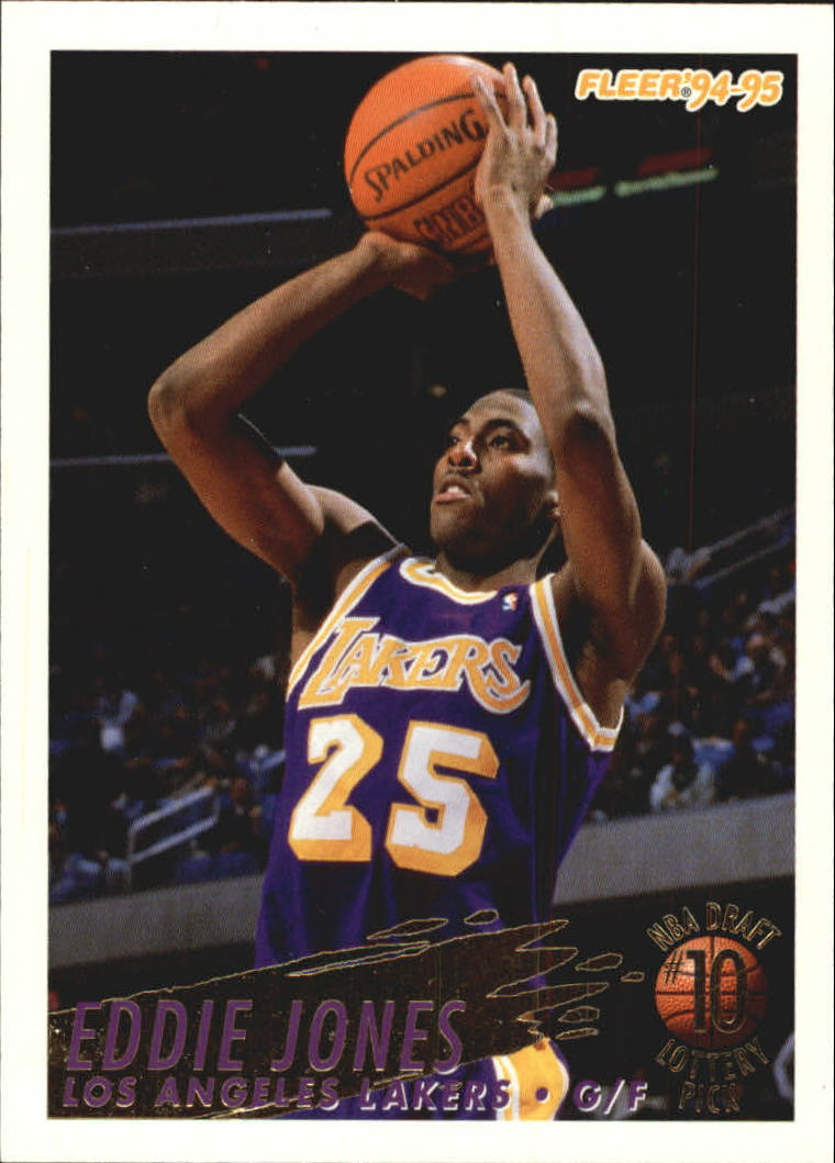 1994-95 Fleer Lottery Exchange #10 Eddie Jones