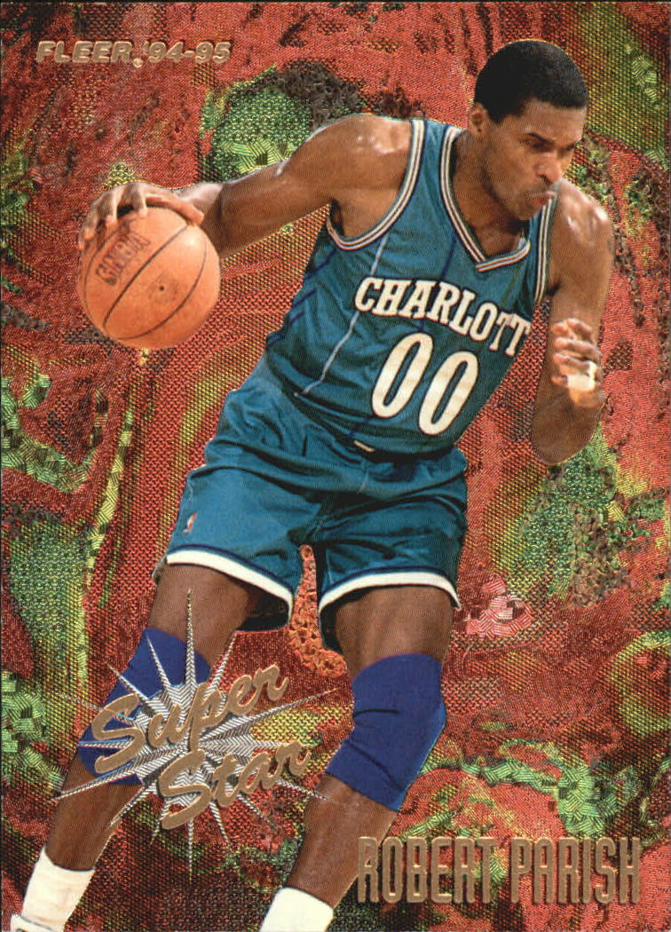 1994-95 Fleer Superstars #4 Robert Parish