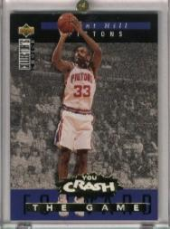 1994-95 Collector's Choice Crash the Game Rookie Scoring Redemption #S3 Grant Hill
