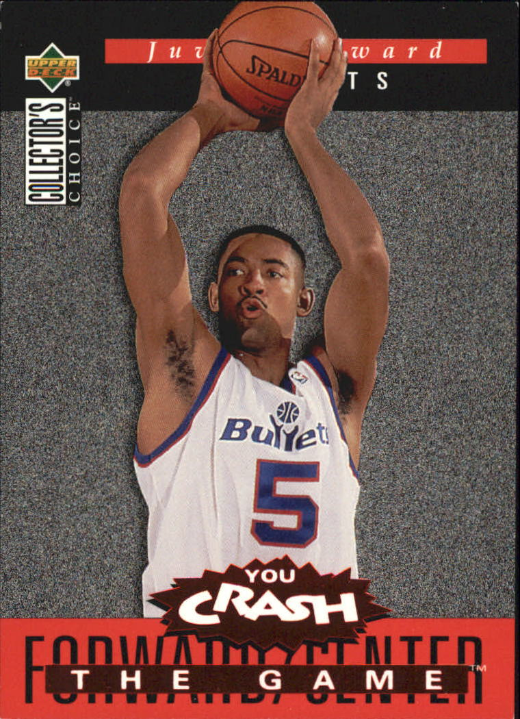 1994-95 Collector's Choice Crash the Game Rookie Scoring Redemption #S4 Juwan Howard