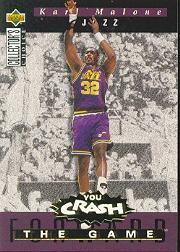 1994-95 Collector's Choice Crash the Game Scoring Redemption #S5 Karl Malone
