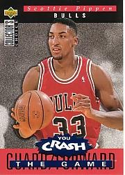 1994-95 Collector's Choice Crash the Game Scoring Redemption #S9 Scottie Pippen