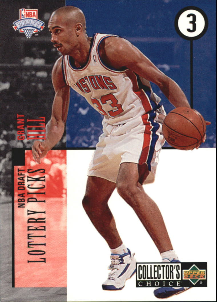 1994-95 Collector's Choice Draft Trade #3 Grant Hill