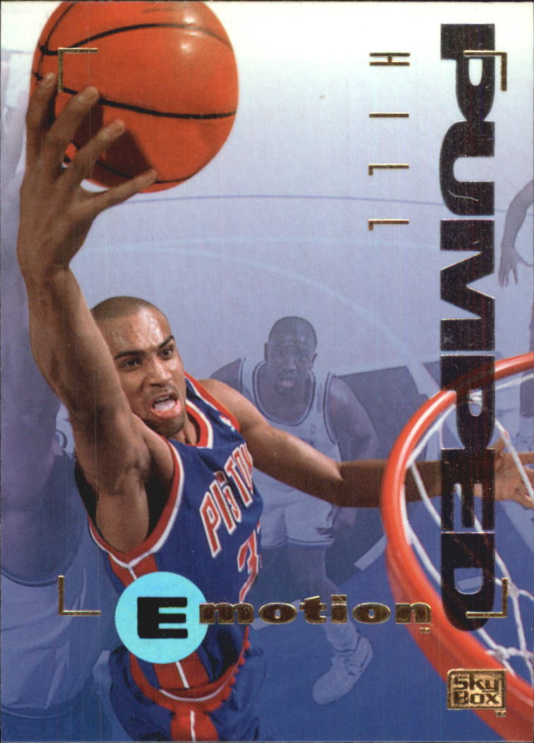 1994-95 Emotion #28 Grant Hill RC