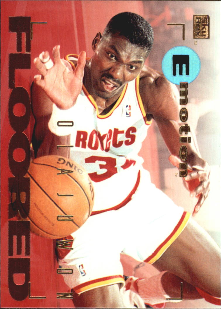 1994-95 Emotion #38 Hakeem Olajuwon