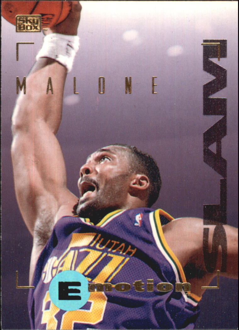 1994-95 Emotion #95 Karl Malone