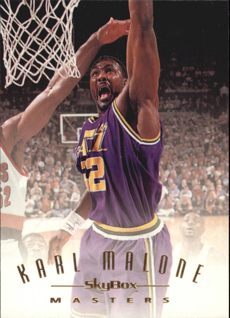 1994-95 Emotion #113 Karl Malone MAS