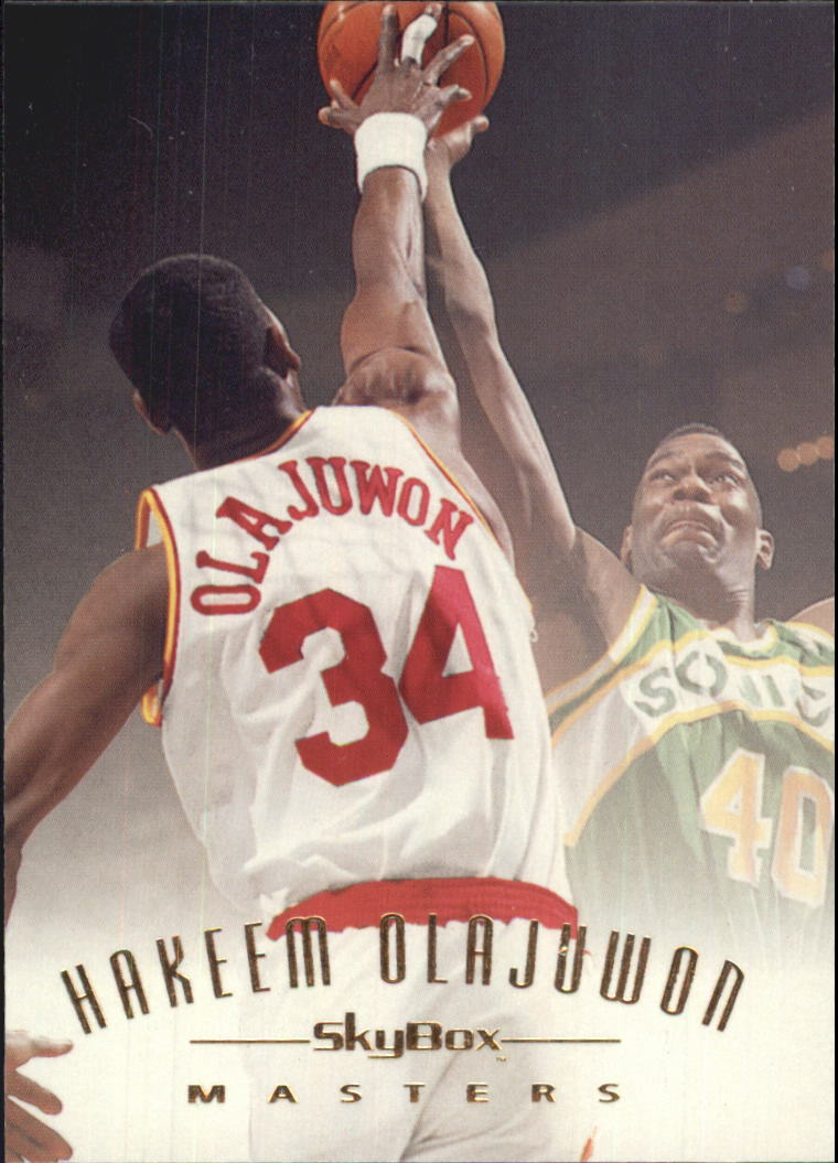 1994-95 Emotion #116 Hakeem Olajuwon MAS