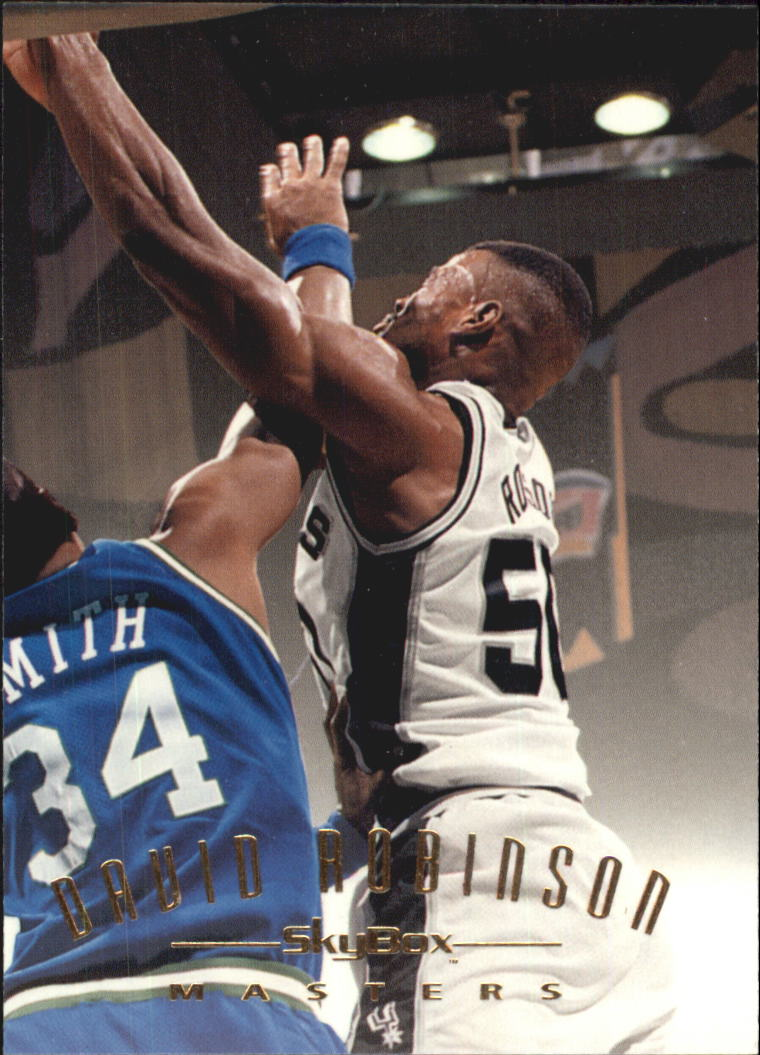 1994-95 Emotion #118 David Robinson MAS