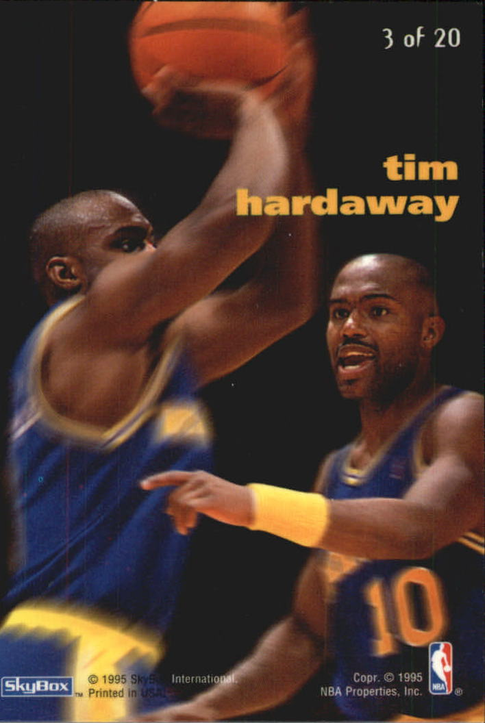 1994-95 Emotion X-Cited #X3 Tim Hardaway