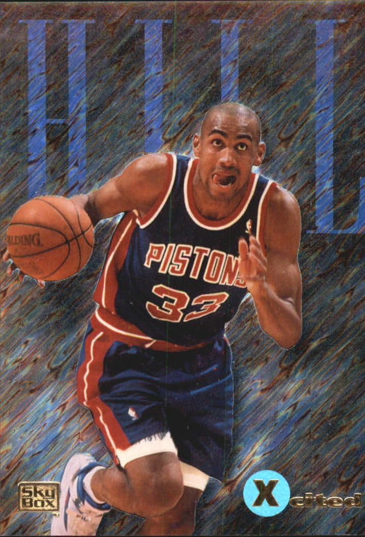 1994-95 Emotion X-Cited #X4 Grant Hill