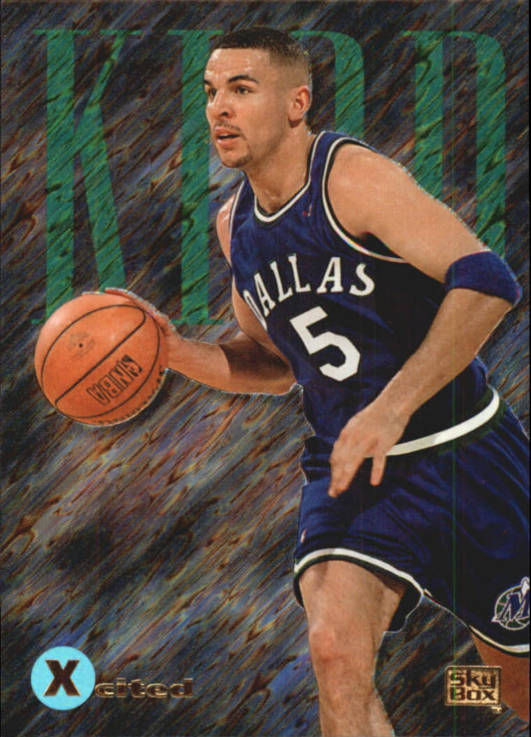 1994-95 Emotion X-Cited #X7 Jason Kidd