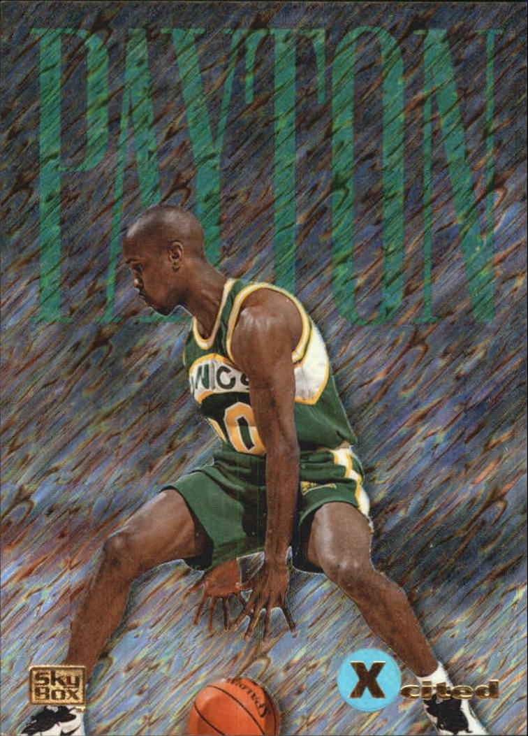 1994-95 Emotion X-Cited #X11 Gary Payton