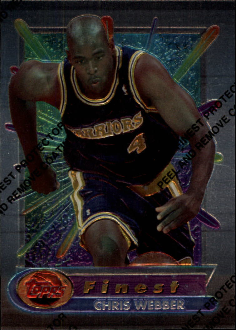 1994-95 Finest #120 Chris Webber