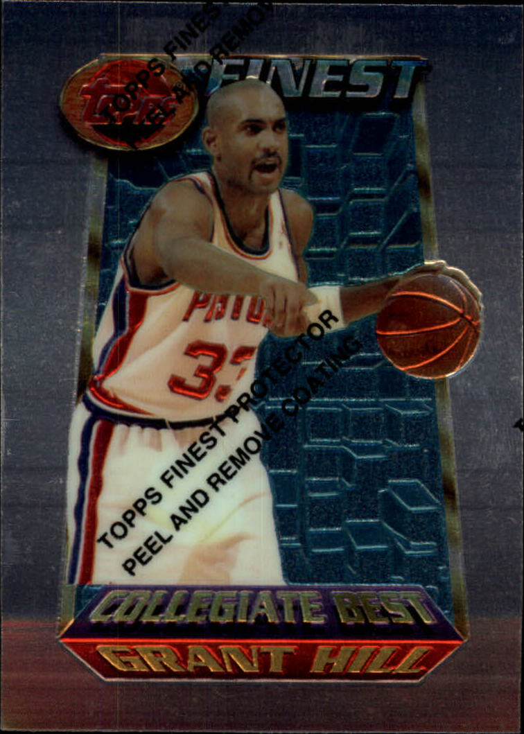 1994-95 Finest #200 Grant Hill CB