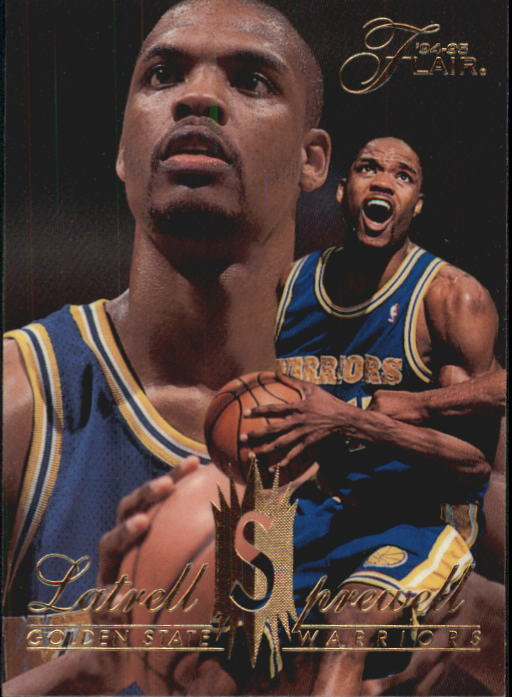 1994-95 Flair #52 Latrell Sprewell
