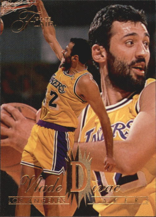 1994-95 Flair #73 Vlade Divac