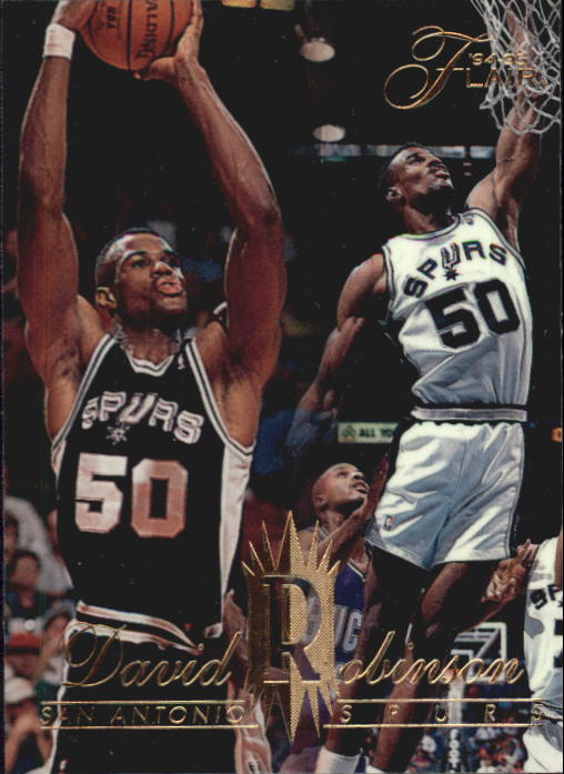 1994-95 Flair #137 David Robinson