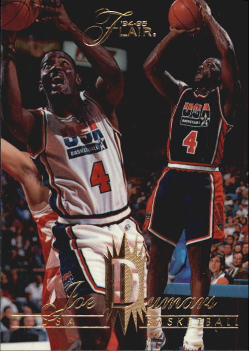 1994-95 Flair #160 Joe Dumars USA