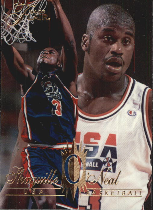 1994-95 Flair #168 Shaquille O'Neal USA